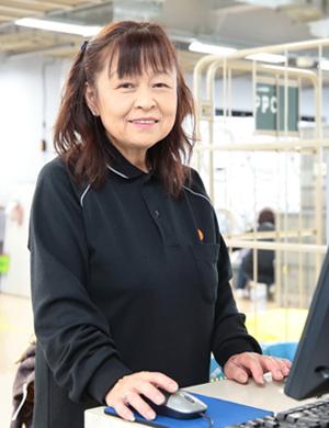 南九イリョー 株式会社 熊本支店熊本生産課 橋田 信子